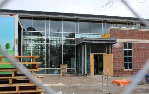 Project Update: The Hub dining hall