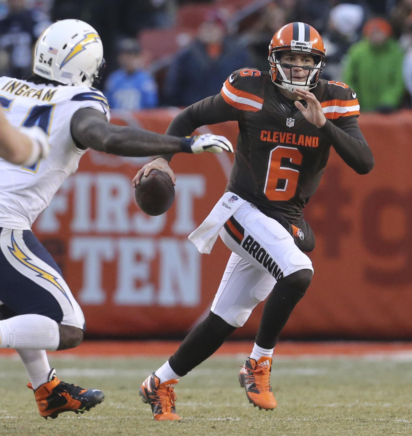 Hue: Osweiler to be treated like Browns QB 'until he's not'