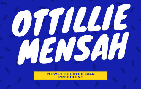 Ottillie Mensah announced SGA president for next school year