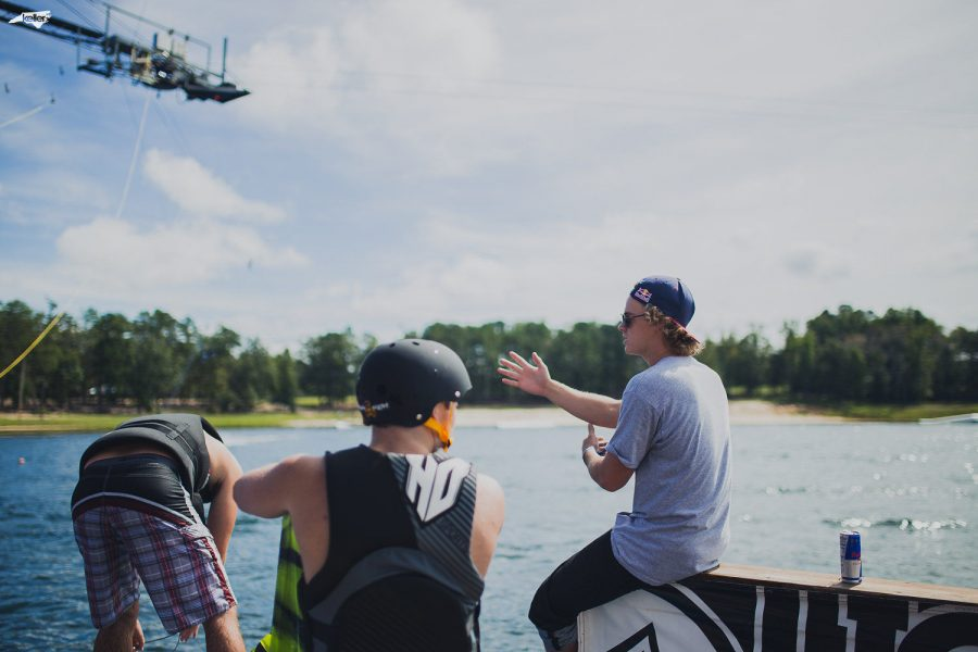 Red+Bull+pro+athlete+Mike+Dowdy+%28right%29+offered+pointers+to+wakeboarders+during+a+two-hour+clinic+at+the+beginning+of+the+event.