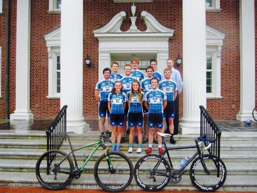 The UNCW cycling club has grown in recent years.