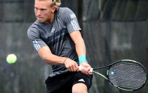 Seniors for men's tennis reflect as season winds down