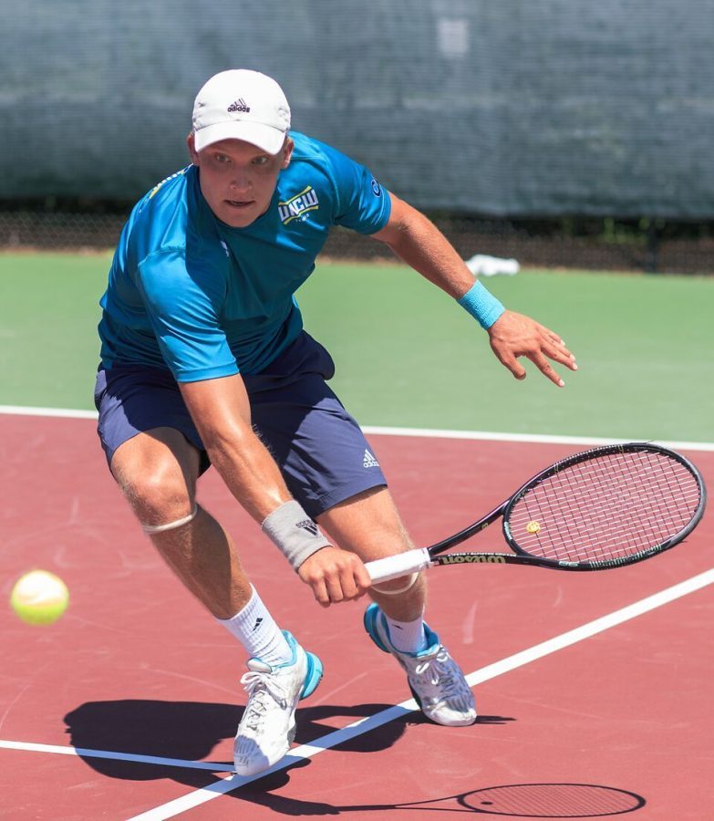 Senior tennis star, Santtu Leskinen, was named the top player of the CAA for the 2016 season.