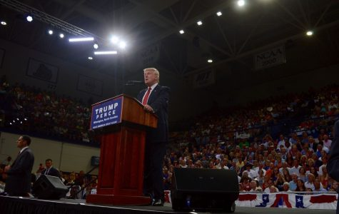 Locals and UNCW students react to Trump's Trask rally