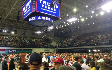 Trump stirs controversy with address at Trask