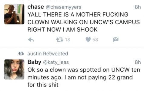 Clown scare hits UNCW