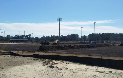 Construction begins on intramural fields, year after project was announced