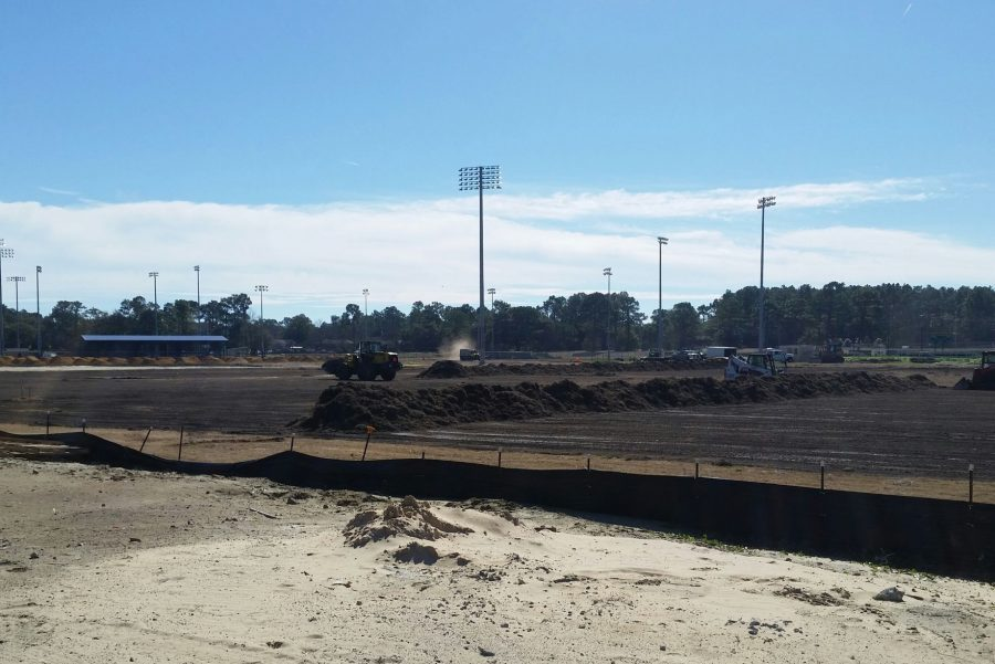Construction on the fields have already begun, and are planned to be completed by fall 2017.