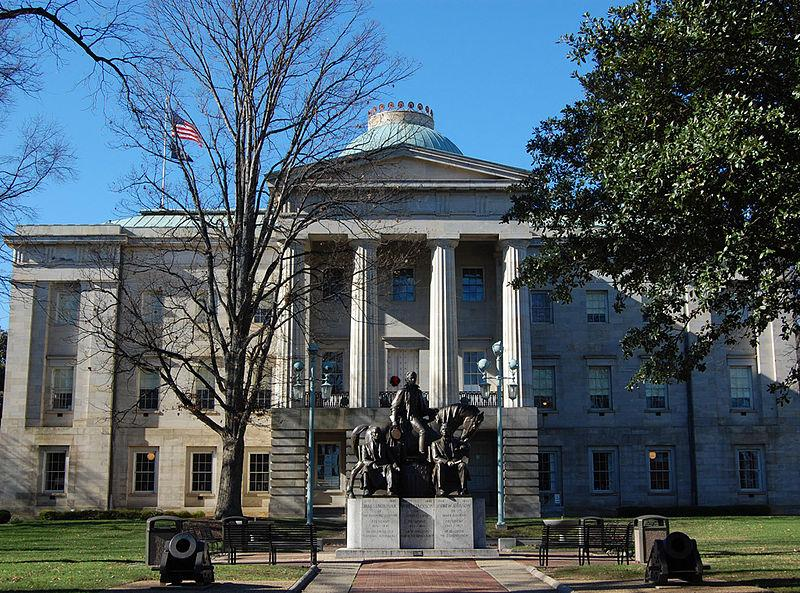 The North Carolina State Capitol building, where these bills discussed by Judge JH Corpening were deliberated over by NC officials.