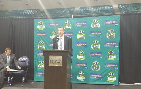 UNCW welcomes C.B. McGrath in opening press conference