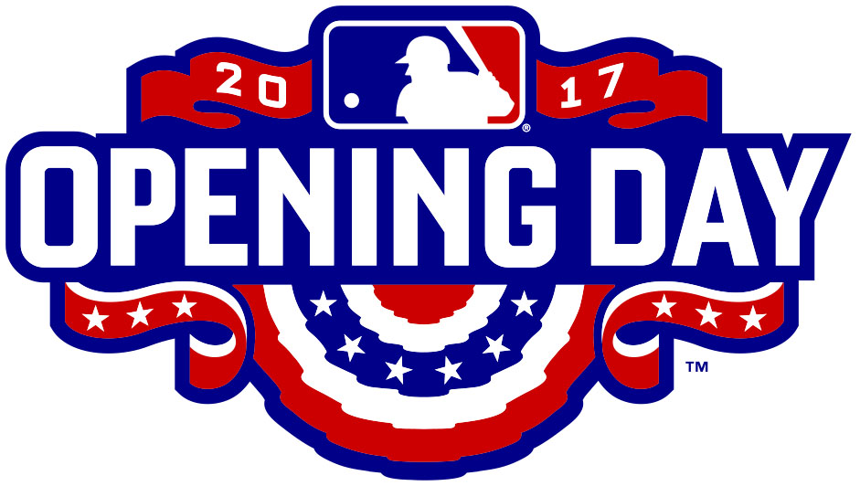 Opening Day logo. MLB 2017