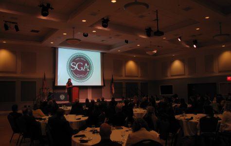 SGA Inauguration: Farewells lead to new leadership