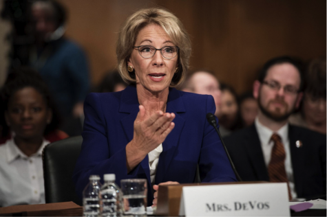 Betsy DeVos rolls back Title IX protections on campus