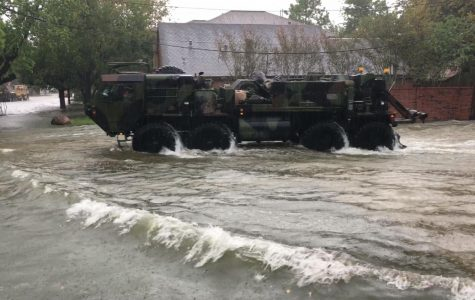 A UNCW professor's eyewitness account: The rains of Hurricane Harvey