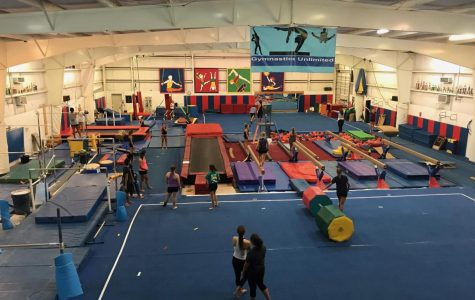 'Cooper's Club:' gymnasts bond inside the gym and out