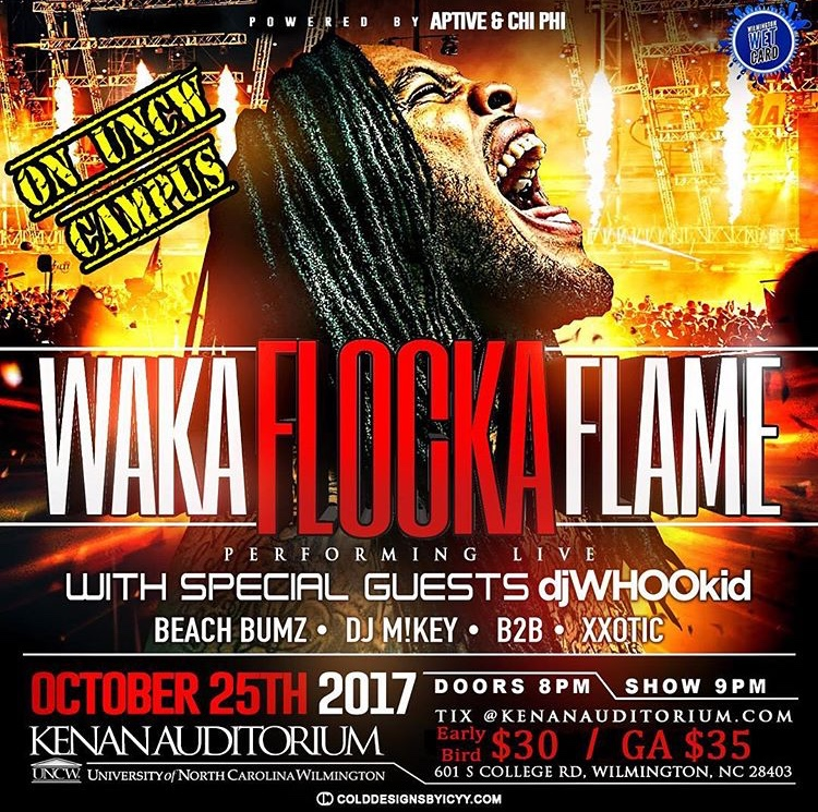 Safety concerns prompt cancellation of Waka Flocka performance mid-concert