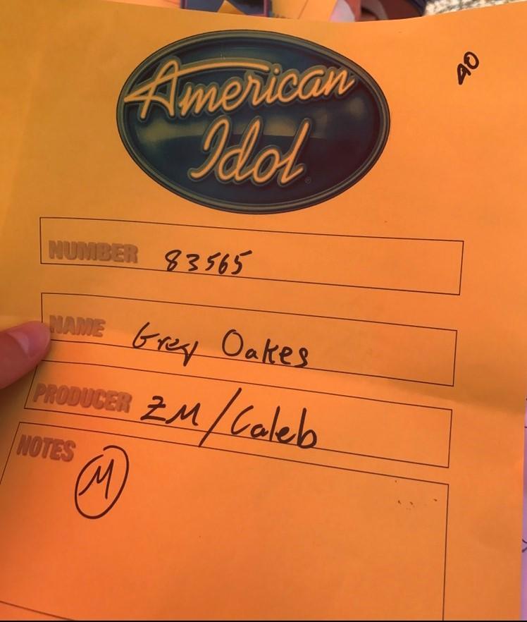 Grey Oakes: From Dub Idol to American Idol