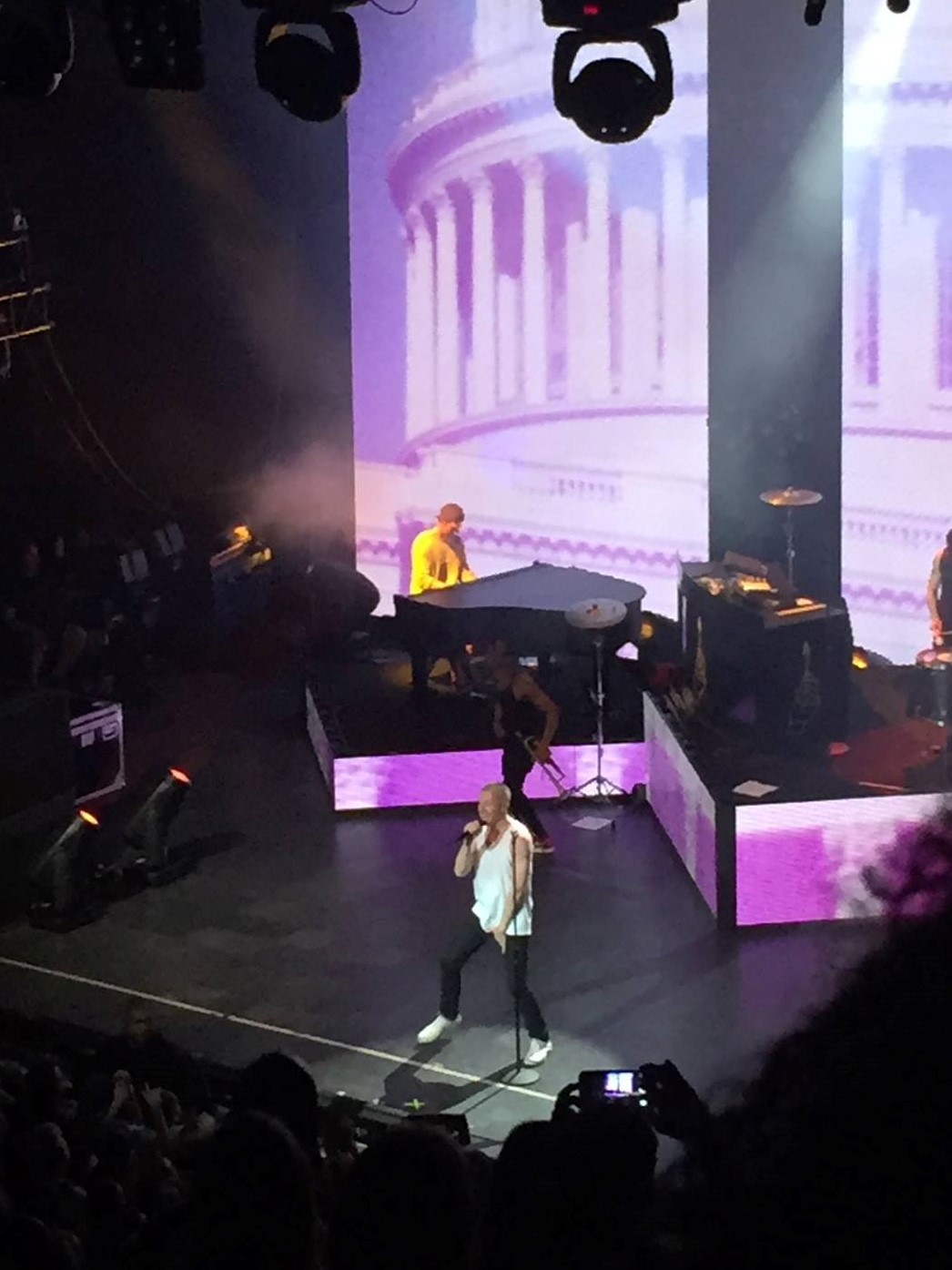 Macklemore preforms live at the Riviera Theatre in Chicago, IL.