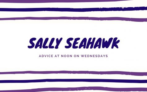 Advice from Sally Seahawk: Valentine's Day edition