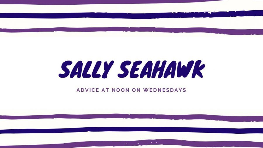 Advice+from+Sally+Seahawk+10%2F16%2F19+%28Diversity%2C+designated+drivers%2C+post-graduation%29