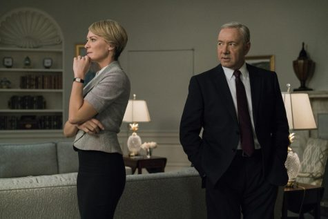Kevin Spacey and Robin Wright in