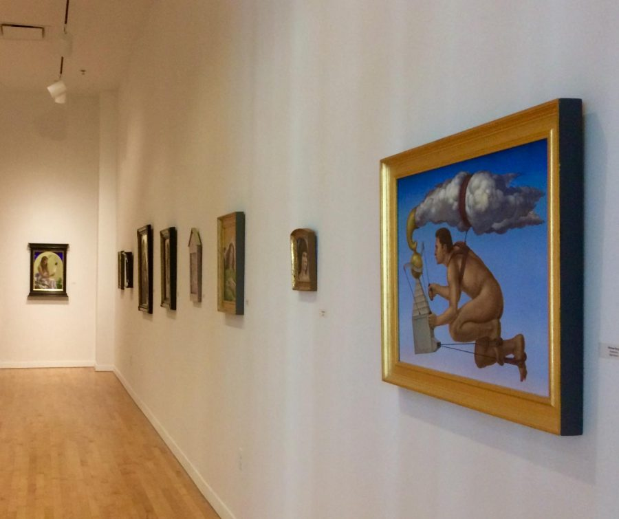 """On-campus art exhibit considered """"one of the most magnificent"""" shown by department"""
