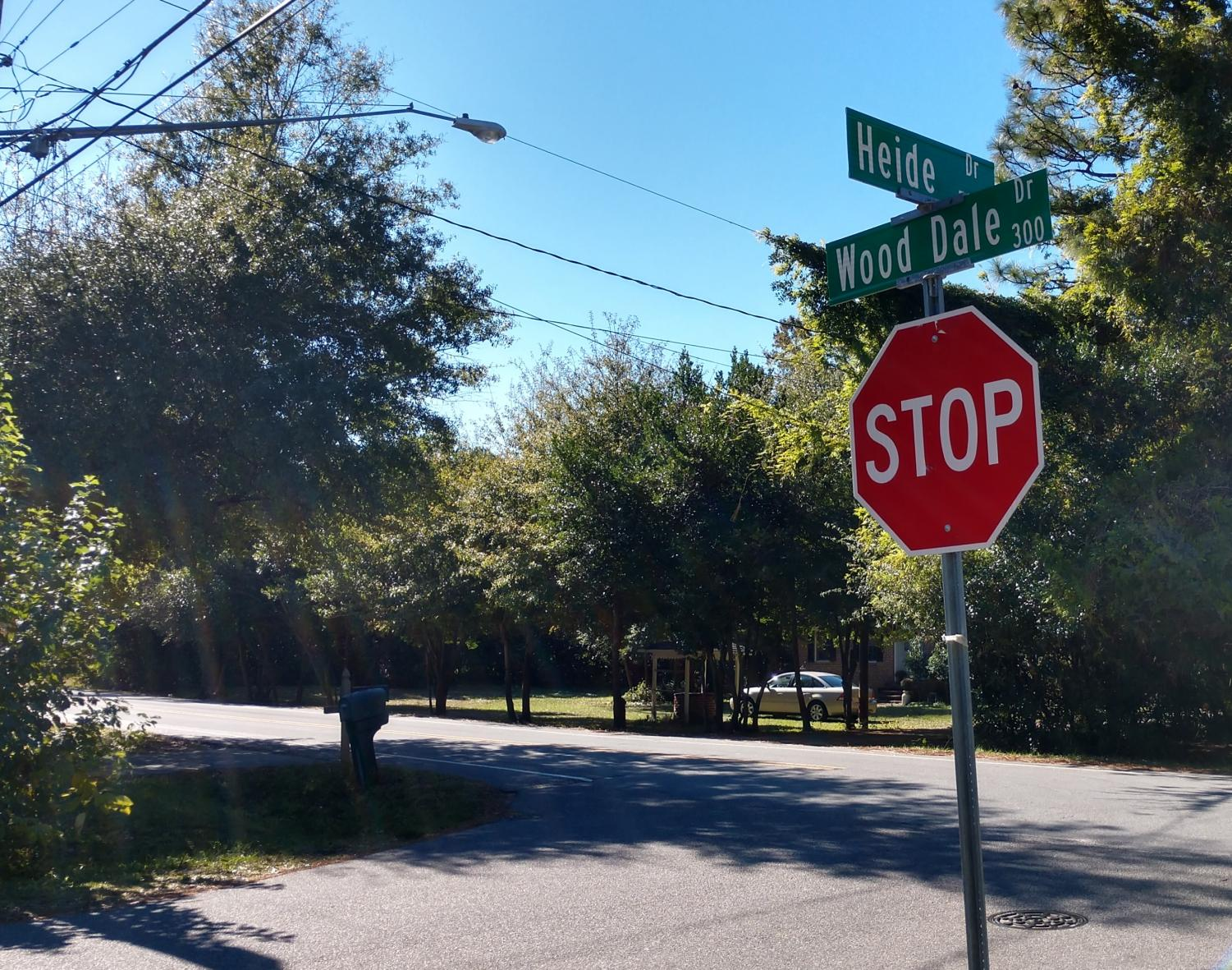 The alleged attempted abduction occurred on Heidi Drive as the female student walked toward the entrance to campus near Wood Dale Drive.