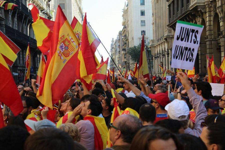 In Catalonia, the people have been protesting in the streets for independence. The Seahawk's Miriam Himes spoke on her experience witnessing these events.