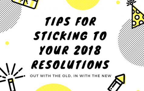 Out with the old, in with the new: tips for sticking to your 2018 resolutions