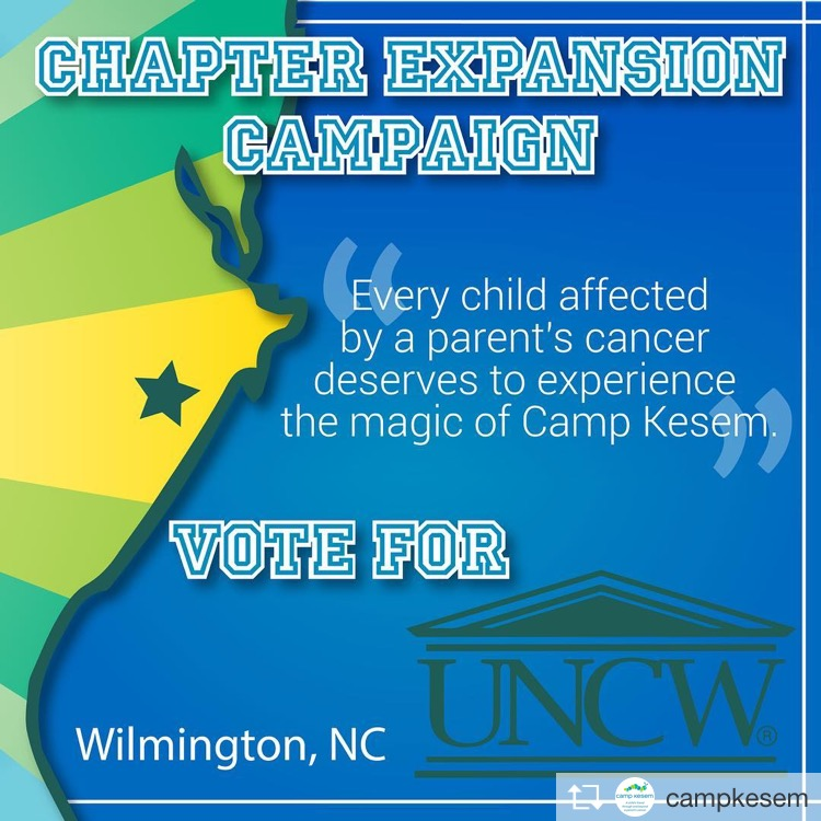 Vote+to+%23GiveKidsKesem+at+UNCW