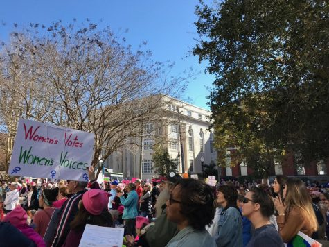 Hundreds gather at 2018 Women's March in Downtown Wilmington, NC