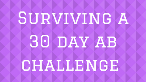 Surviving a 30 day ab challenge: week 3