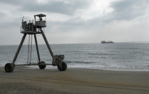 Wrightsville Beach re-nourishment well underway