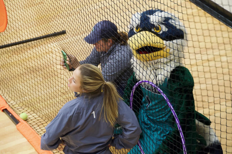 Sammy+C.+Hawk+at+the+softball+station+