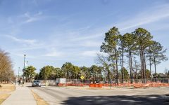 On campus construction continues progressing