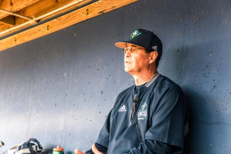 UNCW head baseball coach Mark Scalf returns for his 27th season with the Seahawks. He spoke with media on Feb. 7 at the team's annual media day.