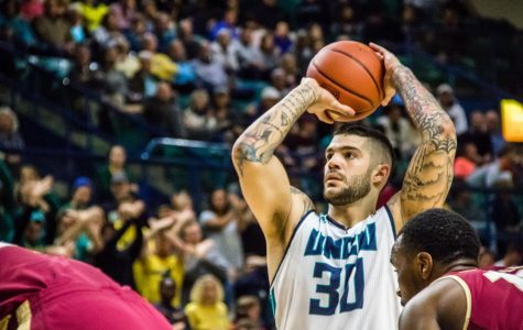 Former UNCW basketball player receives NFL tryout