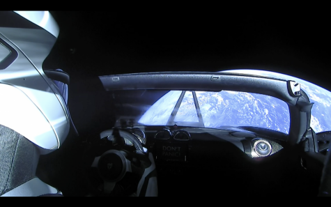 Screenshot from @SpaceX's Twitter livestream