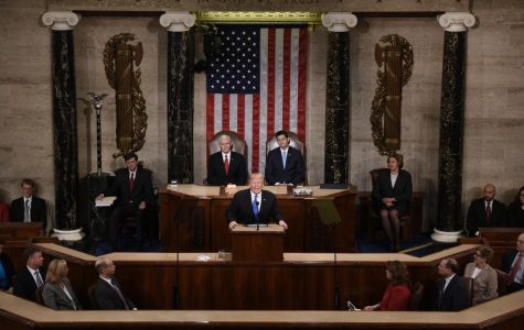 Donald Trump's first State of the Union address, a call for bipartisanship