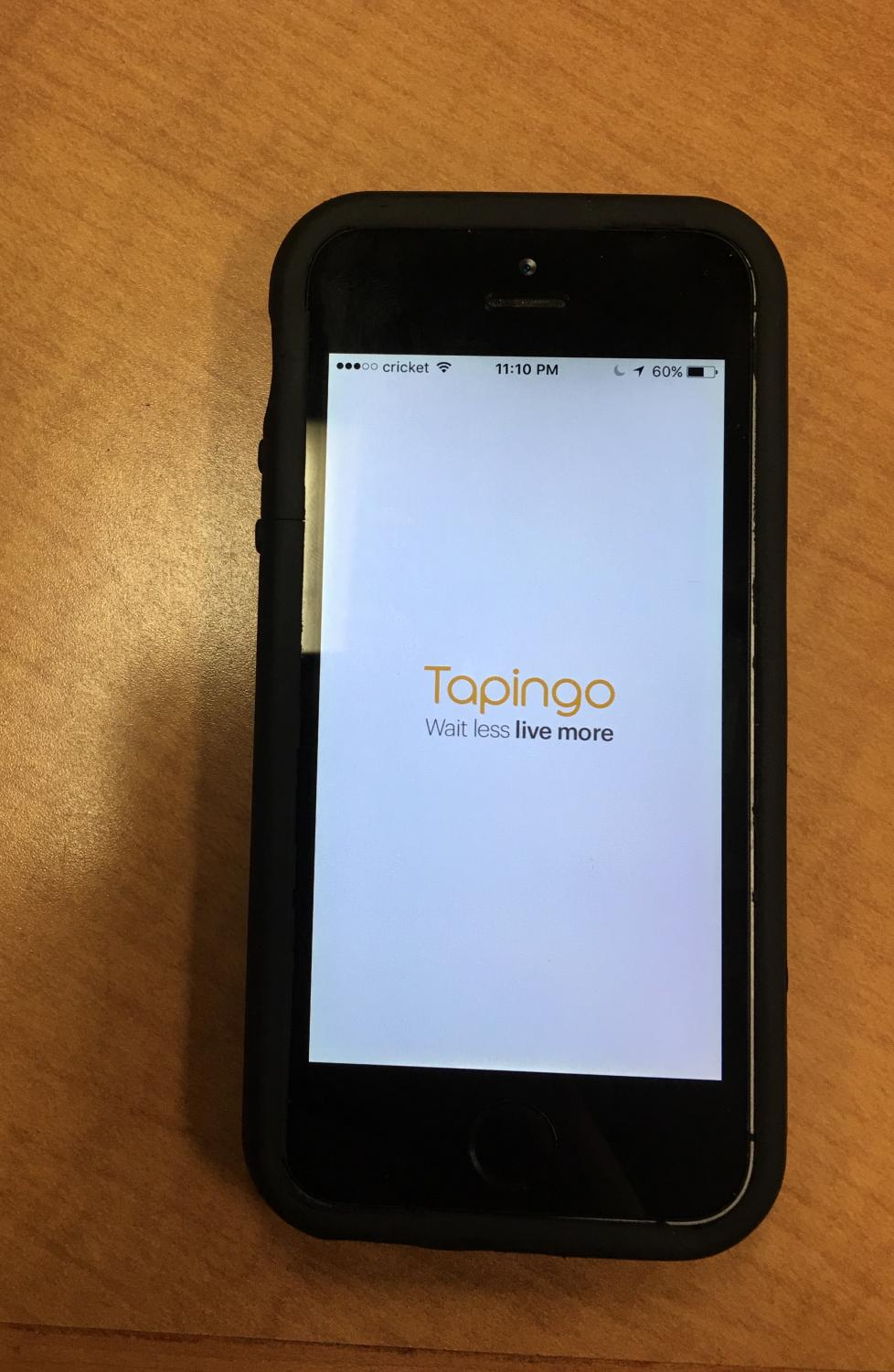 The main Tapingo app, available to students at UNCW.