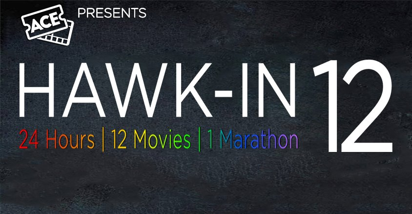 The annual 24-hour movie marathon takes place Mar. 24 in Lumina Theater.
