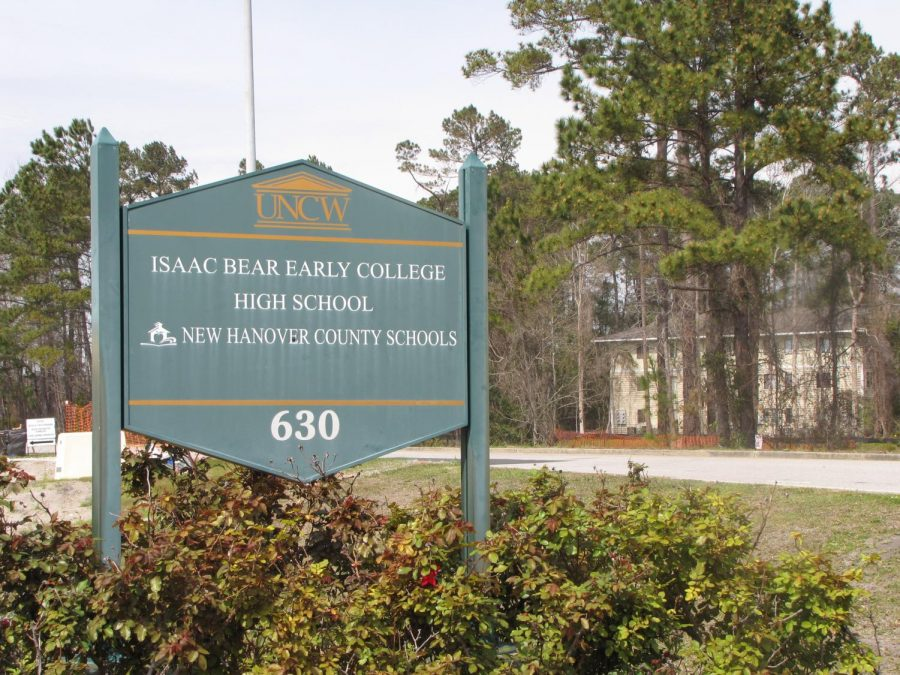 Isaac Bear Early College High School opened fall 2006 and began as a partnership between UNCW, the New Hanover County Schools and the North Carolina New School's Project.