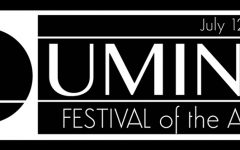 Art in all media present at this year's Lumina Festival of the Arts