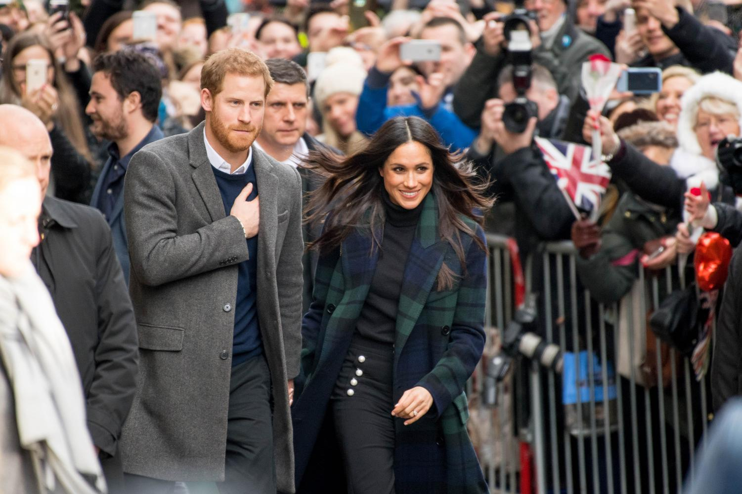 Prince Harry and Meghan Markle the Duke and Duchess of Sussex.