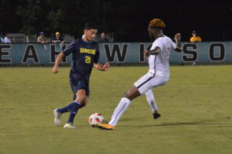 No. 9 Seahawks edge UNC Asheville 3-2 to close out invitational