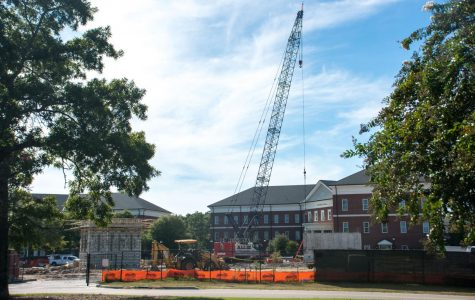 Construction projects continue as students return to campus