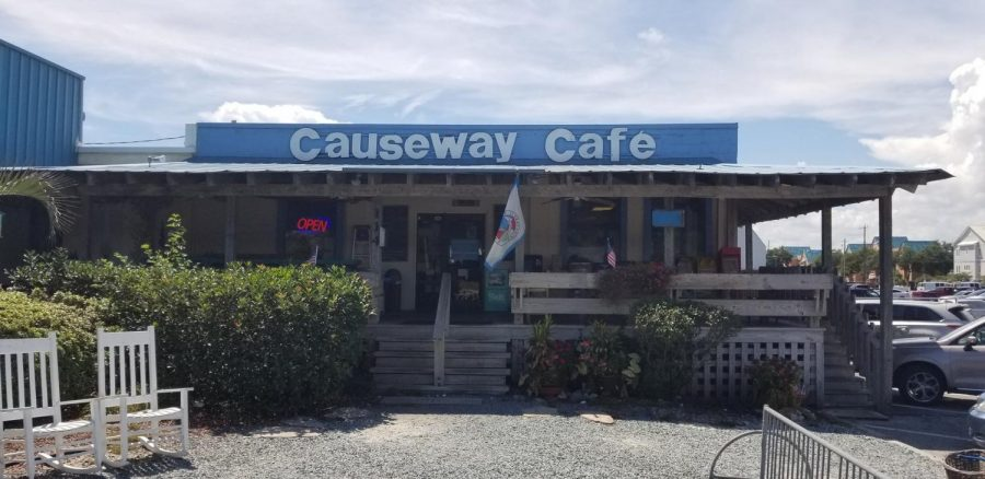 The storefront of the Causeway Cafe, located in Wrightsville Beach. The restaurant, which opened in 1987, will close its doors on Sunday, Nov. 4.