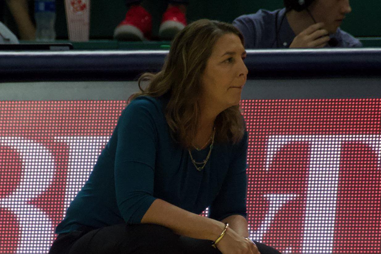 UNCW head coach Karen Barefoot