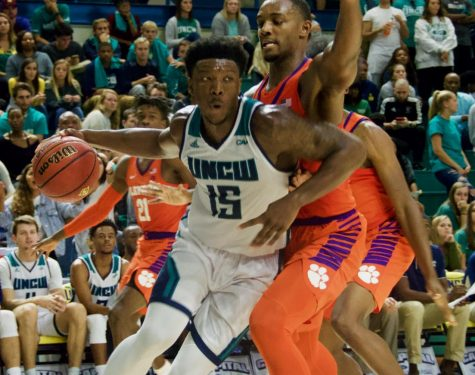 Seahawks prepare for CAA tournament following Senior Day win over James Madison