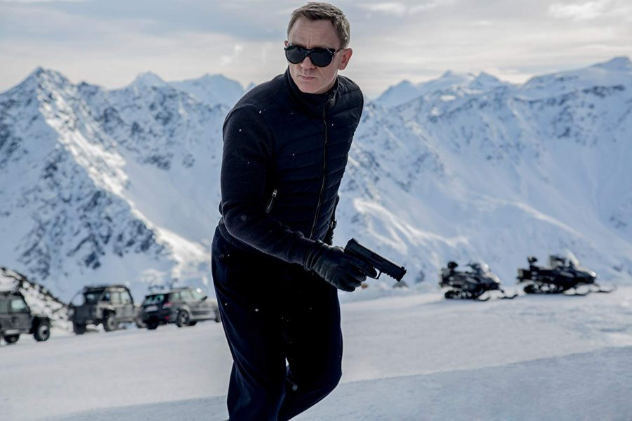 Daniel Craig as 007 in